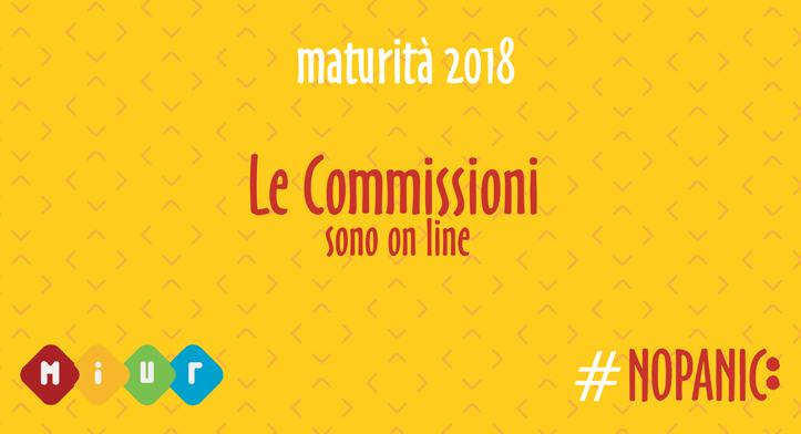 Commissioni Maturità 2018